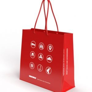 Graphic Design of Branded Bag