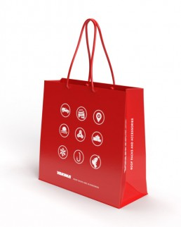 Graphic Design of Branded Bag