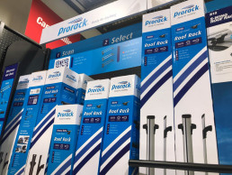 Point of Sale Display for Roof rack and Outdoor Brand Prorack